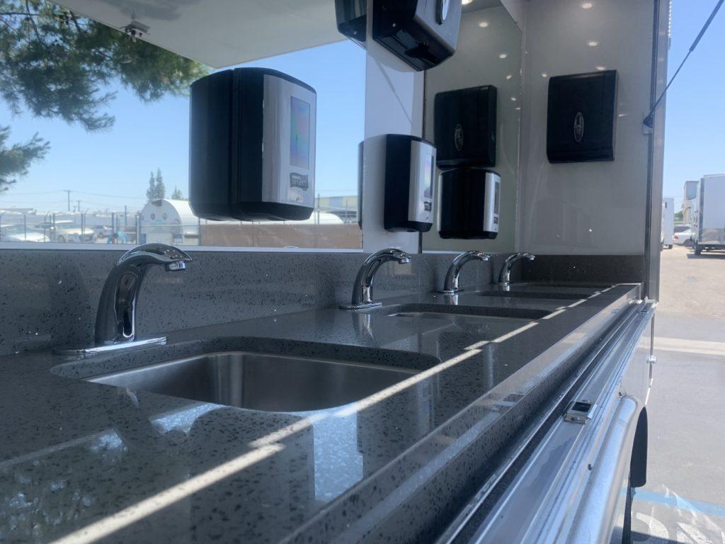 hand wash station sinks