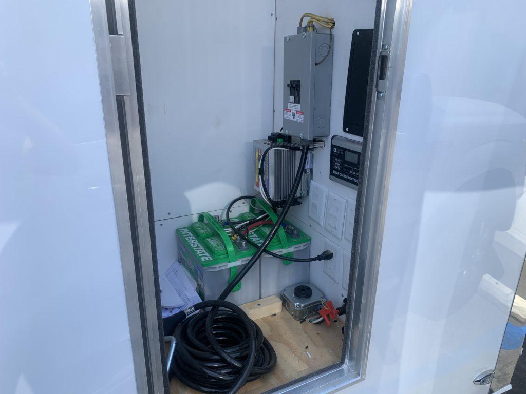 hand wash station trailer batteries