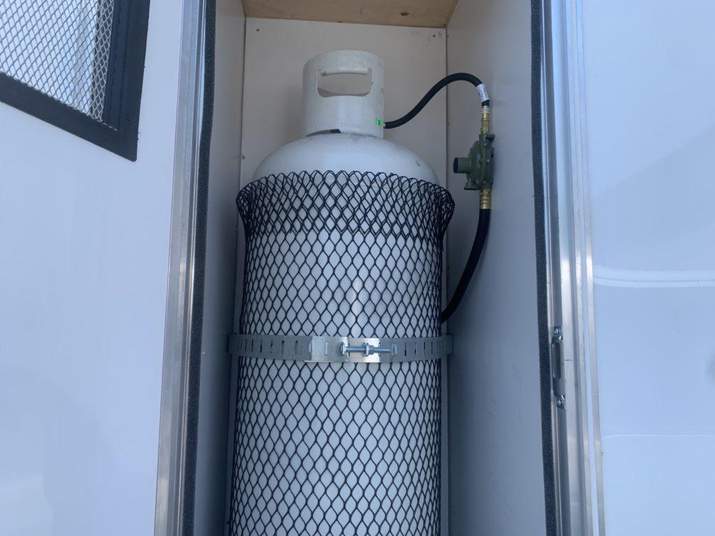 hand wash station trailer heater