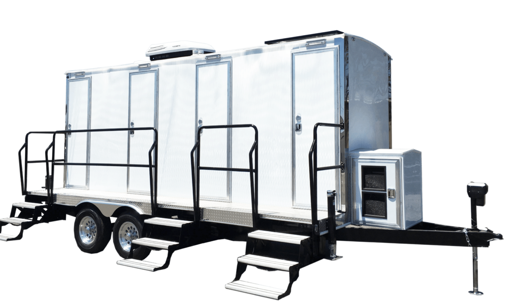 portable restroom for movie industry