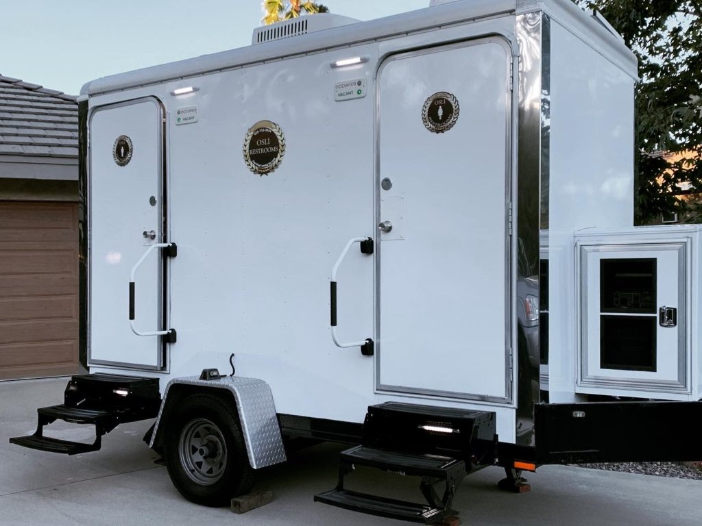 luxury portable restroom